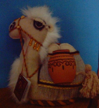 Camel Toy with Jugs