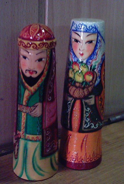 Kazakh Doll - Click Image to Close