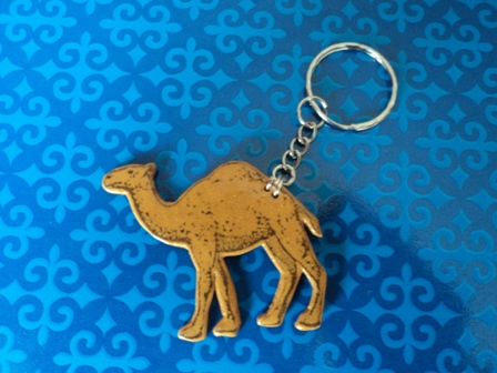Camel Key Chain - Click Image to Close