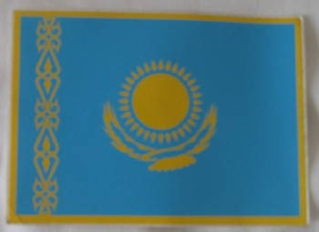 Kazakhstan Flag Sticker