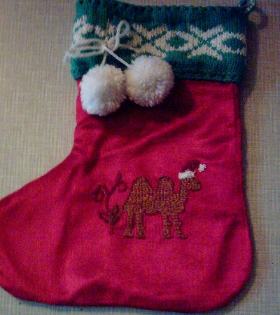 Kazakh Stocking - Camel